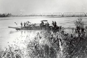 Hayden's Ferry with horse and buggy, Tempe, AZ c.1890
