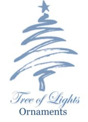tree of lights ornament button