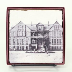 Coaster with image of Old Main