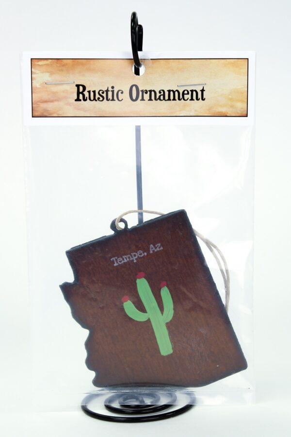 arizona metal ornament