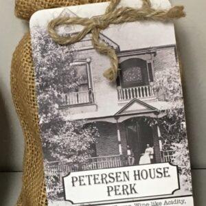 Coffee bag - Petersen House label