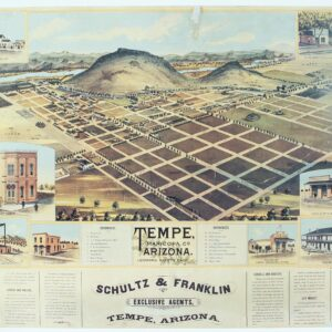 1888 drawing of Tempe