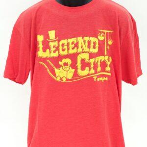Legend City t-shirt front