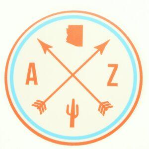A Z Sticker