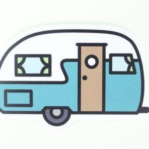 Camper sticker