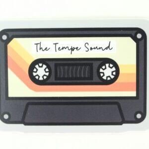 The Tempe Sound cassette sticker